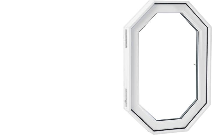 Fenêtre architecturale PVC (architectural window - PVC)