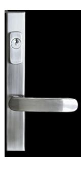 Poignée de porte allegro pour porte d'acier (steel door)