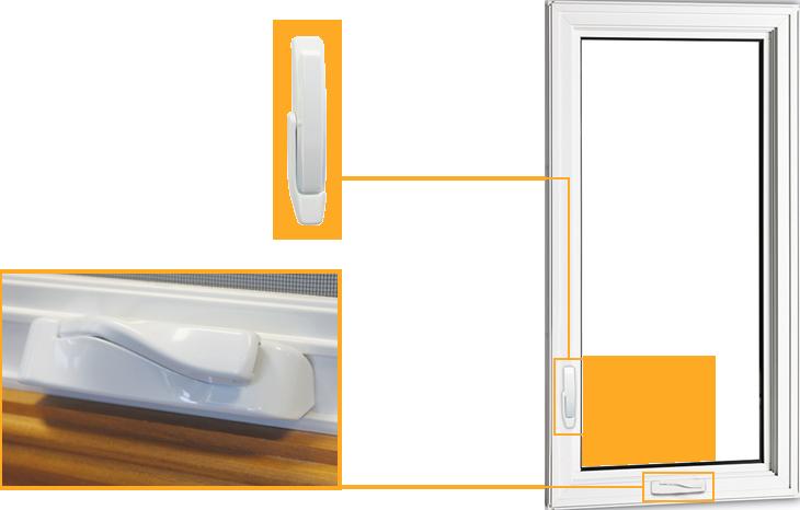 Fenêtre battant et auvent PVC (Casement and Awning - PVC)