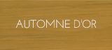Couleur teinture automne d'or portes et fenêtres bois