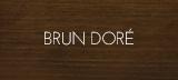 Couleur teinture brun doré portes et fenêtres bois