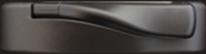 Quincaillerie bronze foncé (option) fenêtre battant et auvent bois