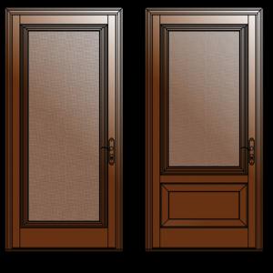 Modeles-1-2-portes-moustiquaires-bois