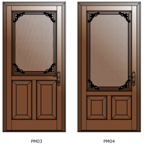 Modeles-3-4-portes-moustiquaires-bois