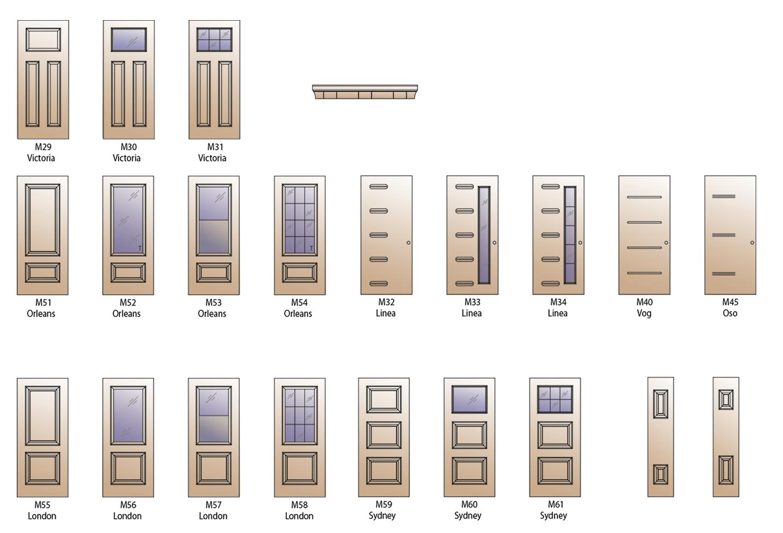 Modèles haute définition XE Plus porte d'acier (steel door)